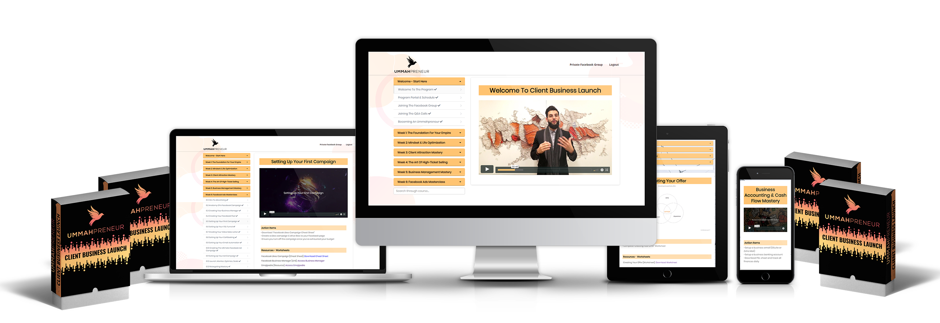 Client Business Launch- Start Your Own Online Business