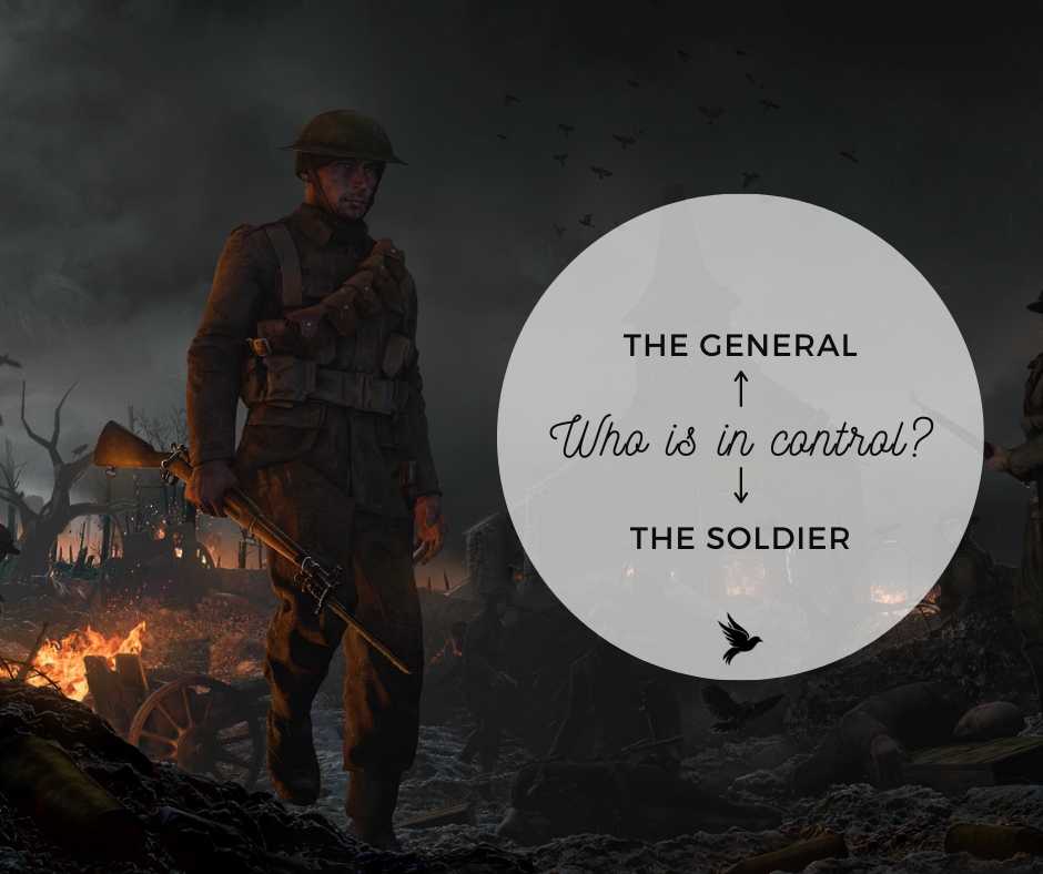 Who's in control - your soldier or your general? - Ummahpreneur
